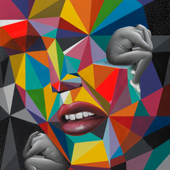 Okuda San Miguel y su arte geométrico