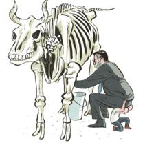 El Mundo. A Illustration project by Puño  - 05.28.2009