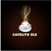 Logo Cafelito OLE. Un proyecto de Diseño de José Antonio  García Montes - Miércoles, 15 de julio de 2009 13:23:06 +0200