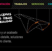 Web + Blog . A Design, and Software Development project by Se ha ido ya mamá  - Sep 08 2009 02:40 PM