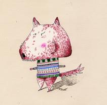 Animales travestis. Un proyecto de Ilustración de Itziar San Vicente - 17-10-2009