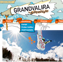 GrandValira Freestyle. A Design, Software Development, and UI / UX project by Carlos A. Sanz García - 11.04.2009