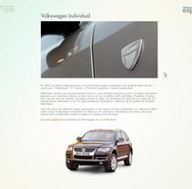 Portal CRM de Volkswagen España . A Design, UI / UX, and Advertising project by Pablo Mateo Lobo - Nov 22 2009 11:42 PM