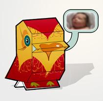 Tarjeta de nacimiento. Un proyecto de Diseño e Ilustración de Elvira Rojas - Lunes, 23 de noviembre de 2009 13:09:00 +0100