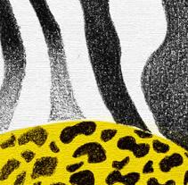 La cebra y el leopardo. A Illustration project by Aldo Tonelli         - 28.11.2009