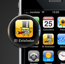 El Estafador. A Software Development, and UI / UX project by David Lillo - 21-01-2010