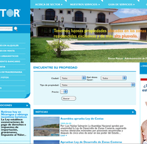 Sector Nica Bienes Raices. A Design, Software Development, UI / UX&IT project by quintajose         - 04.02.2010