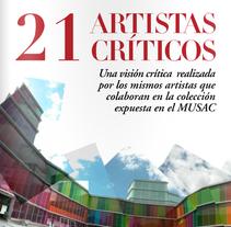 Suplemento 21artistas, 21 críticos. A Design project by Kevin Kwik Johannesen - 16-02-2010