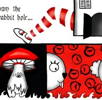 Down the rabbit hole. A Design&Illustration project by Kevin Kwik Johannesen - 16-02-2010