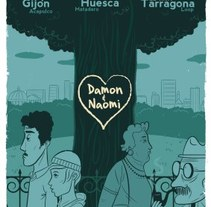 Damon & Naomi. A Illustration project by Diego Cano - Mar 01 2010 08:34 PM