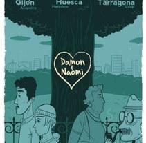 Damon & Naomi. Un proyecto de Ilustración de Diego Cano - Lunes, 01 de marzo de 2010 20:34:36 +0100