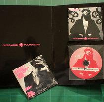 PressBook Pulpo Negro - Pedro Marín. Un proyecto de Diseño de Luis Pascual - Viernes, 26 de marzo de 2010 09:06:04 +0100