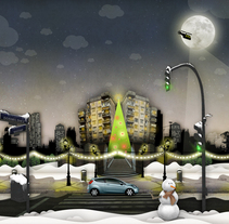 FORD XMAS09. A Design&Illustration project by Nacho Gallego         - 03.05.2010