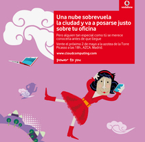 vodafone. A Design, Illustration, Advertising, and 3D project by arancha  - 18-05-2010