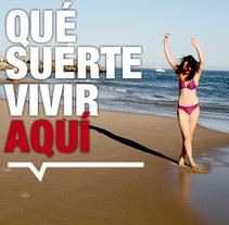 Qué suerte vivir aquí. A Design, and Advertising project by Carlos Ruano - May 23 2010 06:03 AM