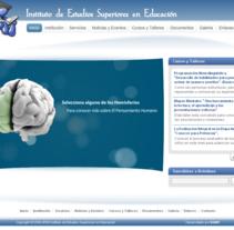 Web  -  IESE  . Un proyecto de Diseño, Desarrollo de software y UI / UX de Carlos Rojas - Martes, 25 de mayo de 2010 16:06:44 +0200
