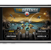 Tridefense (Iphone Game). A Design, Illustration&IT project by Estudio Puente JuanMa Díaz - Jun 02 2010 10:23 PM