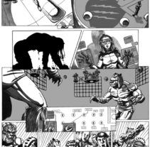 Caged pagina 11. A Illustration project by Tomás Morón Aranda - 03-06-2010