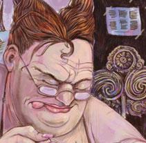 La murciélaga. Um projeto de Ilustração de Luis Liendo         - 20.06.2010
