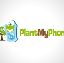 Plant my phone. A Design, Illustration, Advertising, and Software Development project by MadridNYC Estudio de Diseño Gráfico - 22-06-2010