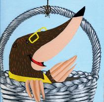 Viaje al país de los jardines tristes. A Design&Illustration project by Sandra Maya         - 29.06.2010