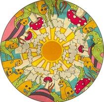 mandala infantil. A Design&Illustration project by Pablo Favre         - 12.07.2010