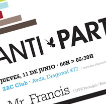 Anti.Party. Un proyecto de Diseño de ricardo macedo         - 06.08.2010