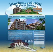 Microsite Tanet. A Design, and 3D project by Diego Moreno - 14-09-2010