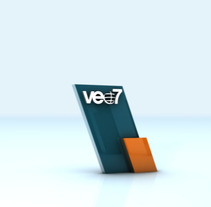 Rebrand veo7 2010. A Design, Motion Graphics, Film, Video, TV, and 3D project by Oscar Arias - 25-10-2010