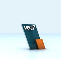 Rebrand veo7 2010. Un proyecto de Diseño, Motion Graphics, Cine, vídeo, televisión y 3D de Oscar Arias - 25-10-2010