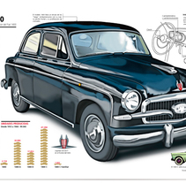 SEAT 1400. A Illustration project by Francisco  Castracane         - 26.10.2010