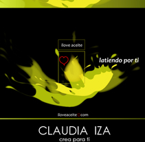 Iloveaceite . A Design, Illustration, Advertising, and Motion Graphics project by CLAUDIA IZA         - 30.10.2010