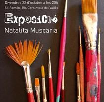 Cartel Exposición Oddvar. A Design, and Advertising project by Laia Buerba Giralt         - 03.11.2010