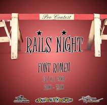 Rails Night 2007. A Design, Illustration, Advertising, and Photograph project by Marc Perelló         - 18.11.2010