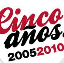 Cinco años FDP Comunicación. Um projeto de Design de Óscar Labrador Atienza         - 09.12.2010
