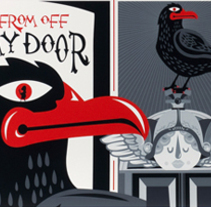 The Raven. A Design&Illustration project by Rebombo estudio  - 28-11-2010