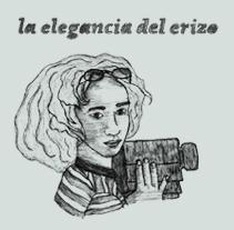 """""""La elegancia del erizo"""" Muriel Barbery. Un proyecto de Diseño e Ilustración de violeta nogueras         - 02.12.2010"""