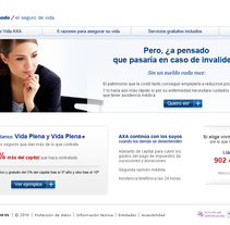 AXA -promoción.. A Design, and Software Development project by Isabel Martín - Dec 26 2010 07:55 PM