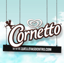 Cornetto. A Design, and Advertising project by Bloomdesign  - 31-12-2010