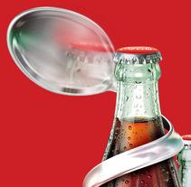 Coca-Cola 2. Um projeto de Design, Ilustração, Publicidade e 3D de Carlos Abril González         - 03.01.2011