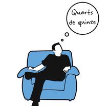Quarts de quinze. A Design&Illustration project by Mónica Casanova Blanco         - 05.02.2011