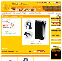 Humidor Discount. A Design, Advertising, Software Development, and UI / UX project by Rafael Campoverde Durán         - 07.02.2011