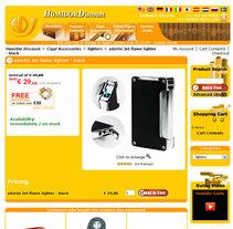 Humidor Discount. Um projeto de Design, Publicidade, Desenvolvimento de software e UI / UX de Rafael Campoverde Durán         - 07.02.2011