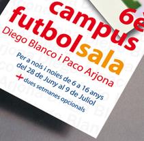 Campus Futbol Sala. Un proyecto de  de Àngel Marginet         - 10.02.2011