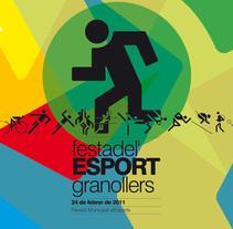 Festa de l'Esport 2011. Um projeto de Design de lluís bertrans bufí         - 21.02.2011