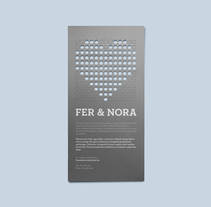 Fer & Nora. A Graphic Design project by La caja de tipos  - 02-01-2011