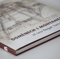 Domènech i Montaner · Libro. A Editorial Design, and Graphic Design project by Gabriela Petrikovich         - 31.03.2011