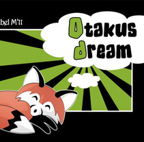 OtakusDream Logo. A Design&Illustration project by Isabel Martín         - 10.04.2011