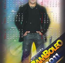 Calendario promocional orquesta Bamboleo (tiro y retiro). Un proyecto de  de Eduardo A. González         - 11.04.2011