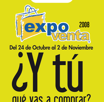 Flyer EXPO VENTA 2008. A Design project by José Rivera         - 12.04.2011